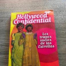 Cine: HOLLYWOOD CONFIDENTIAL , LOS TRAPOS SUCIOS DE LAS ESTRELLAS. Lote 288539973