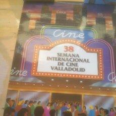 Cine: CARTEL 38 SEMANA INTERNACIONAL DE CINE VALLADOLID.1993. Lote 288737128