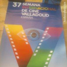 Cine: CARTEL 37 SEMANA INTERNACIONAL DE CINE VALLADOLID.1992. Lote 288737163