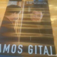 Cine: CARTEL 49 SEMANA INTERNACIONAL DE CINE VALLADOLID.AMOS GITAL.2004. Lote 288738393