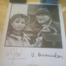 Cine: CARTEL 26 SEMANA INTERNACIONAL DE CINE VALLADOLID.VICTORIA ABRIL VICENTE ARANDA.1991. Lote 288738663