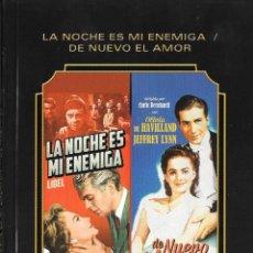 Cine: LIBRETO LA NOCHE ES MI ENEMIGA / DE NUEVO EL AMOR - ANTHONY ASQUITH / CURTIS BERNHARDT. Lote 288738788
