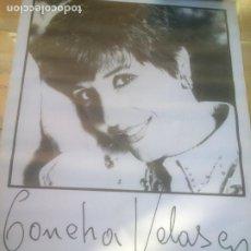 Cine: CARTEL 31 SEMANA INTERNACIONAL DE CINE VALLADOLID.CONCHA VELASCO.1986. Lote 288739243