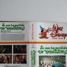 Cinema: SOLO CARATULA ~ SE NOS HA PERDIDO UN DINOSAURIO ~. Lote 288893193