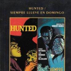 Cine: LIBRETO HUNTED / SIEMPRE LLUEVE EN DOMINGO - CHARLES CRICHTON / ROBERT HAMER. Lote 289500283