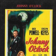 Cine: LIBRETO JOHNNY O'CLOCK - ROBERT ROSSEN. Lote 289500418