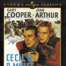 Cinema: LIBRETO BUFFALO BILL - CECIL B. DEMILLE. Lote 289620573