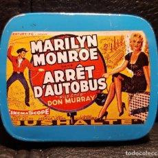 Cine: MARILYN MONROE - PASTILLERO PEQUEÑO - FRANCIA - NO USO CORREOS. Lote 290072173