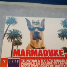 Cine: MARMADUKE, FLYER PUBLICITARIO (A2). Lote 290145103