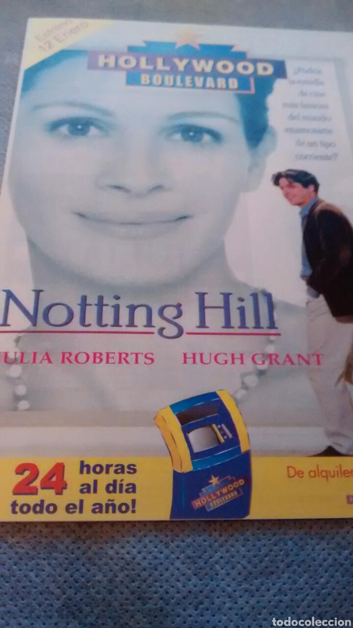 NOTTING HILL, FLYER PUBLICITARIO. (Cine - Varios)