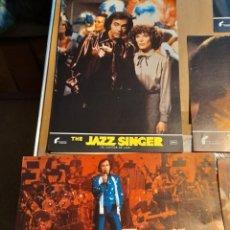 Cine: LOTE DE 12 CARTELES DE THE JAZZ SINGER (EL CANTOR DE JAZZ ) NEIL DIAMOND. Lote 293452398