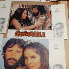 Cine: LOTE DE 11 CARTELES DE CAVERNICOLA ( RINGO STARR & BARBARA BACH ). Lote 293456128