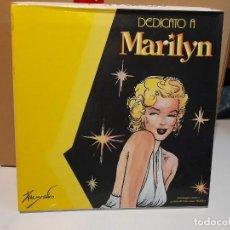 Cine: BOX DEDICATO A MARILYN MONROE ( CONTIENE ESTUCHE, LIBRO MUY ILUSTRADO Y 2 CD´S ). Lote 293499943