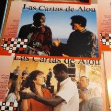 Cine: LOTE DE 12 CARTELES DE LAS CARTAS DE ALOU ( MONTXO ARMENDARIZ ). Lote 293512828