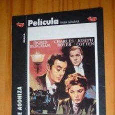 Cine: CARÁTULA DE PELÍCULA EN VHS DE LA REVISTA TELEPROGRAMA. Lote 293822353