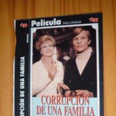 Cine: CARÁTULA DE PELÍCULA EN VHS DE LA REVISTA TELEPROGRAMA. Lote 293824423