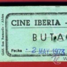 Cinéma: TACO CON 99 ENTRADAS CINE IBERIA DE VALENCIA , 1973 , ORIGINAL. Lote 37319161