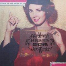 Cine: FOTO AGOSTO 1961 - PORTADA REVISTA DE CONCHA CONCHITA VELASCO - 1 PAG. TRAS. PUBLI RIERA MARSA. Lote 45333533