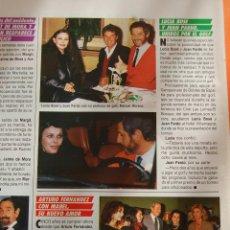Cinéma: RECORTE/ARTICULO 1987 - LUCIA BOSE JUAN PARDO ARTURO FERNANDEZ. Lote 46496988