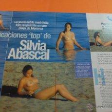 Cinéma: ARTICULO 2001 - SILVIA ABASCAL - 2 PAGINA. Lote 47313415