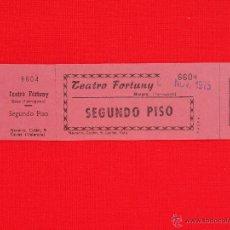 Cine: ENTRADA CINE TEATRO FORTUNY REUS, AÑO 1975, COMPLETA, EXCTE. ESTADO. Lote 47387406