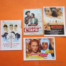Cine: LOTE 4 CARATULAS PELICULAS DE LOLA FLORES TAMAÑO APROX. 10 X 14 CM. Lote 48494288