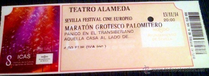 ENTRADA A FESTIVAL DE CINE FREAK EN SEVILLA. 'PÁNICO EN EL TRANSIBERIANO' Y 'AQUELLA CASA AL LADO..' (Cine - Entradas)