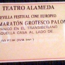 Cine: ENTRADA A FESTIVAL DE CINE FREAK EN SEVILLA. 'PÁNICO EN EL TRANSIBERIANO' Y 'AQUELLA CASA AL LADO..'. Lote 48609206