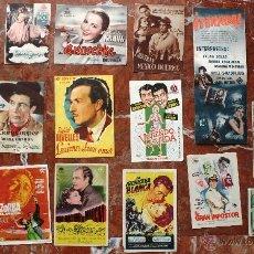 Cine: COLECCIÓN LOTE DE 17 ANTIGUAS ENTRADAS CINE CINEMA GOYA DE MALAGA AÑOS 40. Lote 50244421