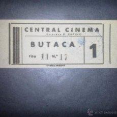 Cine: ENTRADA CINE -. Lote 50852419