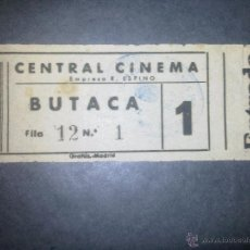 Cine: ENTRADA CINE -. Lote 50852502