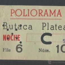 Cine: ENTRADA CINE POLIORAMA - BARCELONA. Lote 52695293