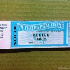 Cinéma: TALONARIO ENTRADAS CINE TEATRO IDEAL CINEMA CALAHORRA. Lote 57884648