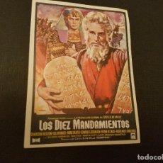 Cine: LOS DIEZ MANDAMIENTOS. Lote 84711282