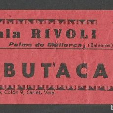 Cinéma: CINE RIVOLI - PALMA DE MALLORCA. Lote 80473433