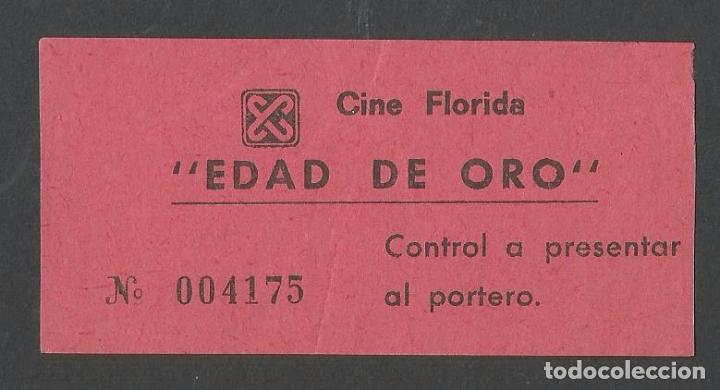 CINE FLORIDA - BARCELONA (Cine - Entradas)