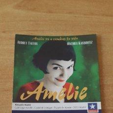 Cine: ENTRADA CINE KINEPOLIS - AMELIE - THE MUMMY RETURNS - LA MOMIA - VER FOTO ADICIONAL. Lote 93336250