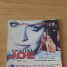 Cine: ENTRADA CINE KINEPOLIS - BEAUTIFUL JOE - SHARON STONE - BILLY CONNOLLY (VER FOTO ADICIONAL). Lote 93336975