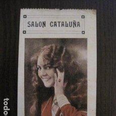 Cine: SALON CATALUÑA - ENTRADA DE CINE - PRINCIPIO DE SIGLO -VER FOTOS - (V-12.464). Lote 102020675