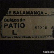 Cine: ENTRADA CINE - CINE SALAMANCA - MADRID - AÑOS 60 - VER FOTOS - (V-12.661). Lote 103313835