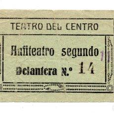 Cine: ENTRADA DE CINE - TEATRO DEL CENTRO - ANFITEATRO SEGUNDO. Lote 103682787