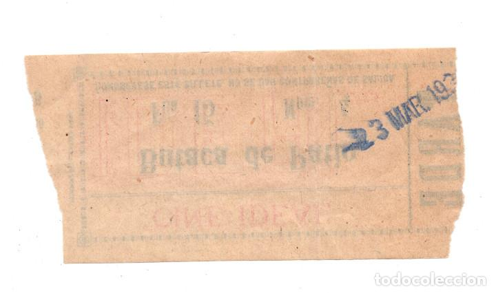 Cine: ENTRADA DE CINE - CINE IDEAL - BUTACA DE PATIO - Foto 2 - 103682839