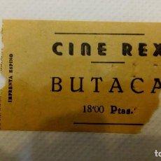 Cine: ENTRADA CINE REX. Lote 110484791