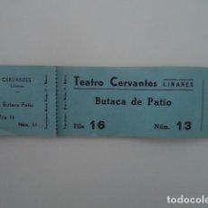 Cine: TACO CON 50 ENTRADAS - TEATRO CERVANTES- LINARES JAEN. Lote 114079075