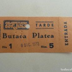 Cine: INTERESANTE ENTRADA ANTIGUA ORIGINAL DEL TEATRO DON JUAN DE BARCELONA. Lote 114243891