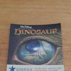 Cinéma: ENTRADA CINE KINEPOLIS - LOS PADRES DE ELLA - DINOSAURS - TOY STORY 2. Lote 116435891