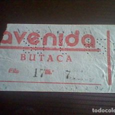 Cine: ENTRADA CINE AVENIDA A MI LA LEGION 20 JUNIO 1942. Lote 118738311