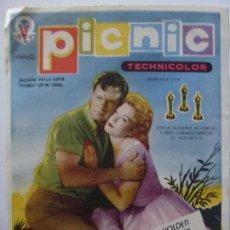Cine: PICNIC DE W. INGE. CINE SAN ROQUE. 1957.. Lote 120292551