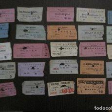 Cine: LOTE 25 ENTRADAS CINE BARCELONA - AÑOS 60 -70 -VER FOTOS-(18227). Lote 121807311
