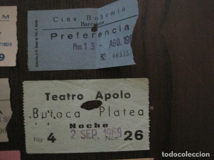 Cine: LOTE 25 ENTRADAS CINE BARCELONA - AÑOS 60 -70 -VER FOTOS-(18227) - Foto 5 - 121807311